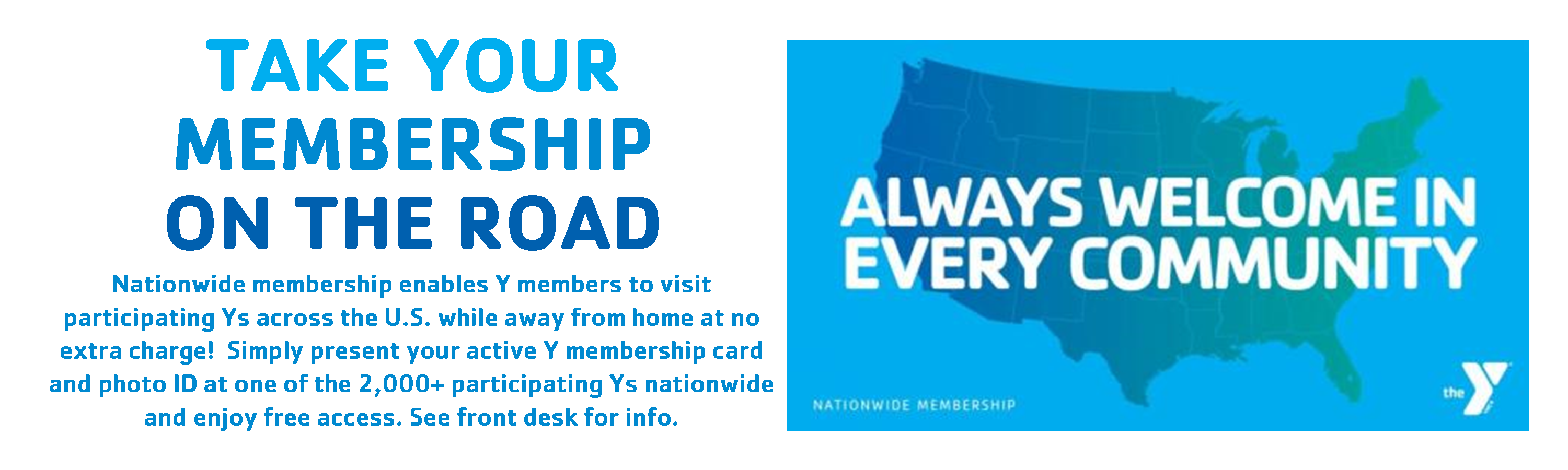 NATIONWIDE MEMBERSHIP